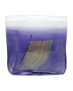 glass 215mm violet