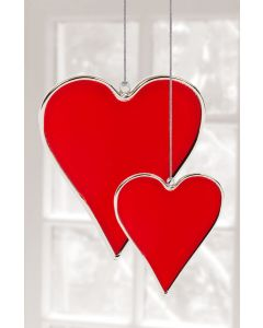 HEART   2PC RED