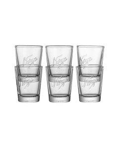 SHOT GLASSES 6PCS